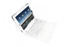Etui URBAN FACTORY Keyboard Sleeve Bluetooth pr IPad2 -Blanc