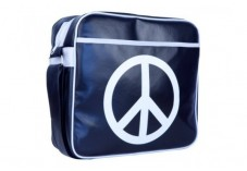 Sacoche URBAN FACTORY Peace & Love Bag - 12''