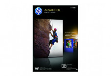 Papier photo HP Advanced Glossy Brillant A6 - 25 feuilles