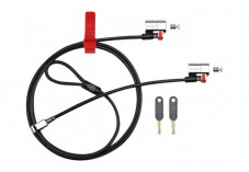 KENSINGTON Câble de sécurité ClickSafe Twin à clé