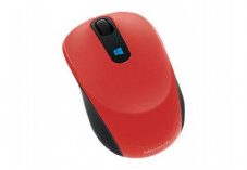 MICROSOFT Sculpt Mobile Mouse Optique Sans Fil Rouge