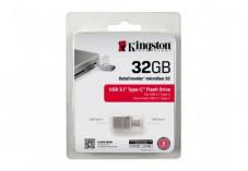 KINGSTON Clé USB 3.0/3.1 DataTraveler microDuo 3C - 32Go
