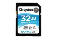 KINGSTON Carte SDHC UHS-I Canvas Go Class 10 - 32Go