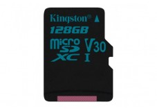 KINGSTON Carte micro SDXC UHS-I Canvas Go! Class 10 128 Go