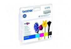 Pack cartouche BROTHER LC970VALBP - Noir + 3 couleurs