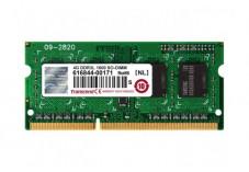 Mémoire TRANSCEND SODIMM 1Rx8 DDR3L PC3-12800/1600MHz 4Go