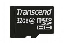 TRANSCEND Carte MicroSDHC Class 4 - 32Go
