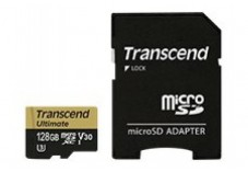 TRANSCEND Carte micro SDXC UHS I Ultimate Class 3 128 Go