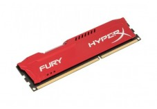MEMOIRE KINGSTON HyperX Fury Red DIMM DDR3 1600MHz CL10 8Go