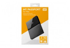WD Disque dur externe My Passport for Mac USB 3.0 3 To noir