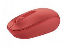 MICROSOFT Wireless Mobile Mouse 1850 Optique - Rouge