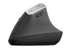 Logitech MX Vertical - Souris - ergonomique - optique - 6 boutons - sans fil, f
