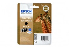Pack cartouche EPSON C13T07114H10 Série GIRAFE - 2x Noir
