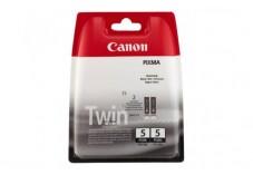 Pack de 2 cartouche CANON 0628B030 PGI-5 - Noir
