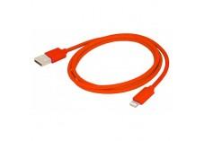 Câble Lightning de charge vers USB URBAN FACTORY -1m Rouge