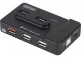 Hub USB 2.0 7 ports dont 1 chargeur iPad + alimentation