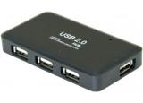 Hub usb 2.0 4 ports avec cordon détachable