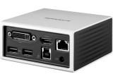 Station d'accueil USB 3.0 double écran HDMI 4K + DVI + LAN + Hub 4 ports