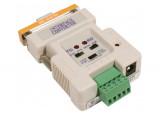 Convertisseur RS232 <>RS422/485 avec cordon d'alim USB