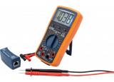 Multimètre numérique + testeur RJ45 et testeur USB