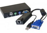 DEXLAN déport KVM VGA/USB sur RJ45 - 100M