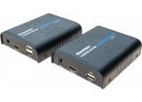 DEXLAN Déport KVM HDMI / USB sur IP Ethernet Gigabit