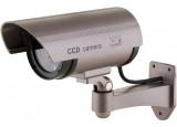 Caméra extérieure factice à LED