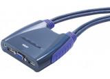 ATEN CS64US Mini KVM  4 UC VGA/USB + Audio câbles intégrés