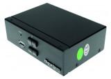 DEXLAN KVM switch 2 ports HDMI 4K / USB / Audio + câbles
