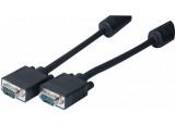 Cable svga 0,5m 3 coax + 9 fils avec ferrites