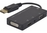 Convertisseur DisplayPort vers HDMI® VGA DVI