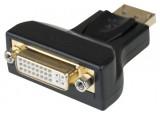 Adaptateur monobloc DisplayPort vers signal DVI-D
