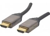 Cordon HDMI® Premium haute vitesse avec Ethernet - 1,5M