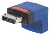 Adaptateur DisplayPort m/f coudé