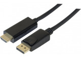 Cordon DisplayPort 1.2 vers HDMI® 1.4 noir - 3m