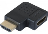 Coupleur HDMI m/f coude a plat (270°) - modele b