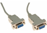 Cable null modem DB9F/F 3M