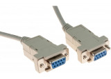 Cable null modem DB9F/F 5M