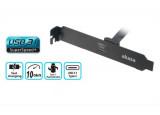 Equerre slot Type-C USB 3.1 Gen2 vers Type-C interne 50cm
