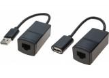 Extendeur USB sur RJ45 CAT5 - 60m
