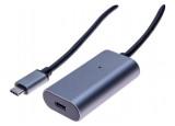 CABLE RALLONGE AMPLIFIÉE USB 3.1 Type-C Gen1 - 5M