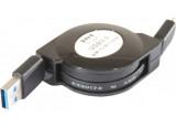 Cordon retractable usb 3.0 a / micro 1,0 m