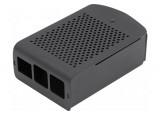 Boîtier aluminium avec interface VESA 75 pour Raspberry Pi 4