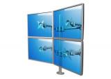 DATAFLEX Support à fixer / pincer Viewmate 52622 - 4 écrans
