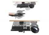 DATAFLEX Support clavier articulé et retractable 97513