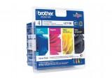 Pack cartouche BROTHER LC1100VALBP- Noir + 3 couleurs