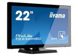 Ecran IIYAMA T2236MSC-B2 VGA/DVI/HDMI/USB + HP - 22'' Tact.