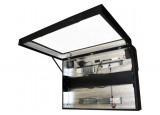 Traitement anti-reflets pour caisson - 181284
