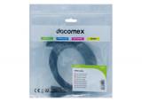 DACOMEX Sachet cordon SVGA avec ferrites - 1,8 m