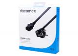 DACOMEX Cordon d'alimentation PC CEE7 / C13 noir - 1,8 m